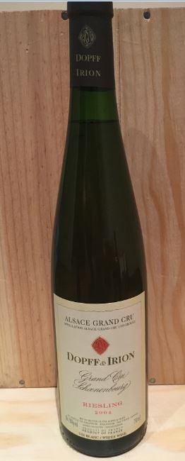 Dopff and Iron, Riesling, Alsace grand Cru, 2004